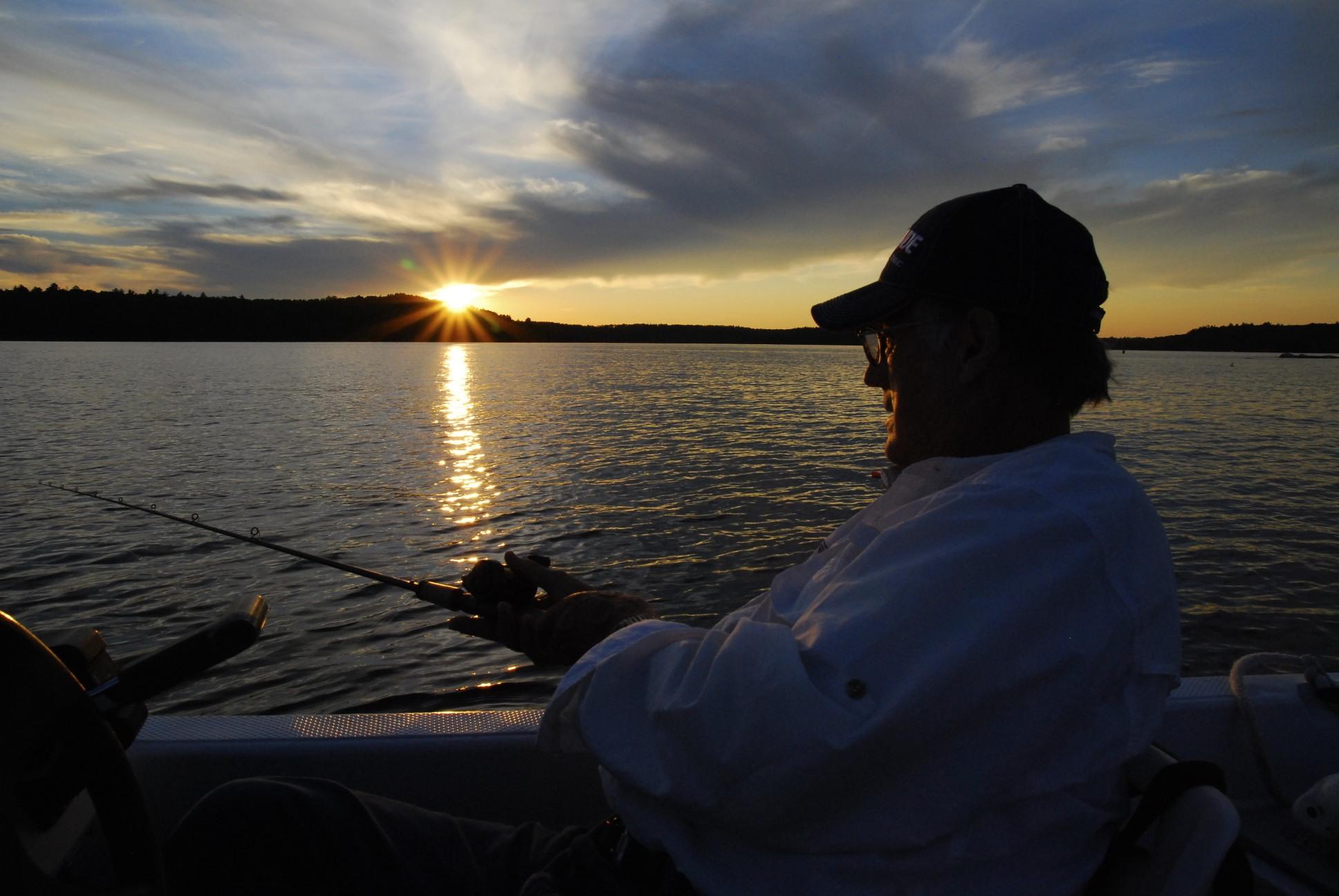 Jim mcdonnell the fishing professor okoboji fishing for Lake okoboji fishing